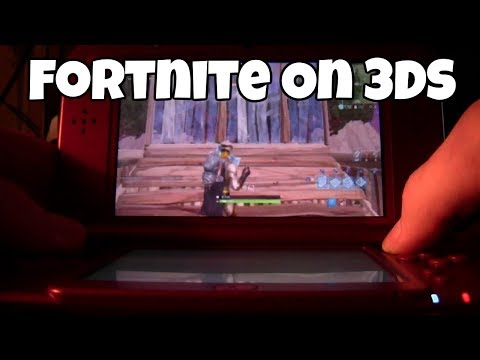 Playing Fortnite on Nintendo 3DS