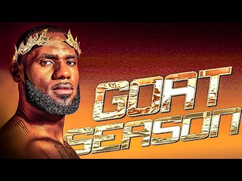 LeBron James - GOAT SEASON 2018