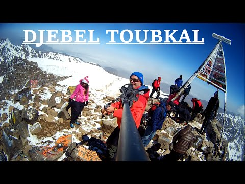 Djebel (Jebel) Toubkal (4167m) - Atlas Mountains (Toubkal Refuge)
