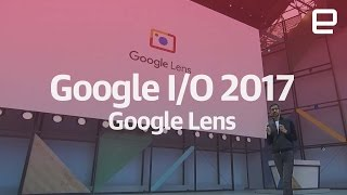Android O | What is Google Lens? | On stage Google I/O 2017