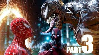 Venom vs SPIDER-MAN, Deadpool - Part 3