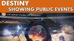 Destiny - Public Events