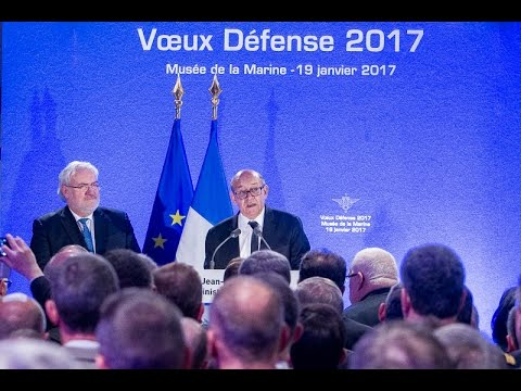 Voeux 2017 du ministre de la Défense