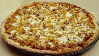 Tuna Pizza Recipe | Pizza with Fresh Tomatoes