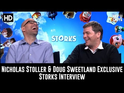 Directors Nicholas Stoller & Doug Sweetland Exclusive Interview - Storks