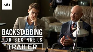 Backstabbing For Beginners | Official Trailer HD | A24