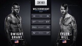 FREE FIGHT | Well-timed Combo Gives Grant the KO | DWTNCS Week 2 Contract Winner - Season 2