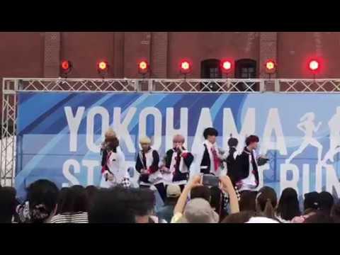 「BUZZ-ER.」ライブパフォーマンス@YOKOHAMA STAR☆NIGHT RUN 2019 少しだけお届け 横浜・赤レンガ倉庫 散歩