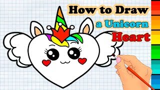 How to Draw a Cute Heart Smiley Face easy