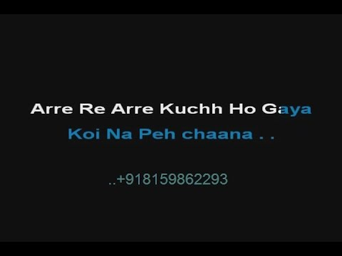 Are Re Are Kya Hua - Karaoke - Dil To Pagal Hai (1997) - Lata Mangeshkar ; Udit Narayan