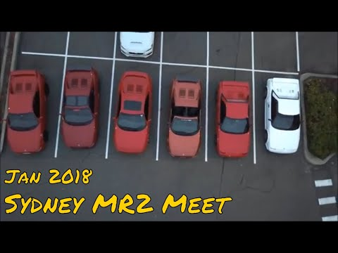 Sydney MR2 Meet Jan 2018