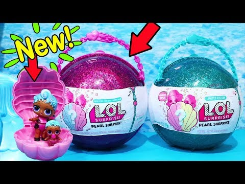 Unboxing New Purple LOL Pearl Surprise! Limited Edition, Blind Bag Toys and Dolls