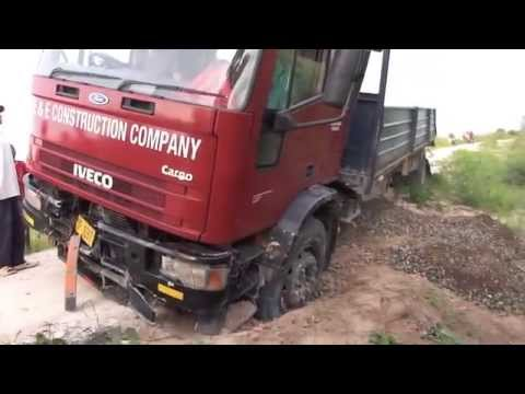 Land Cruiser salvage truck in Malawi east Africa