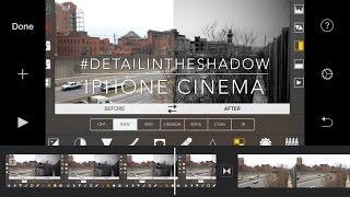 VIDEOGRADE app Iphone 4K Black and white Filmic Pro Video Grade