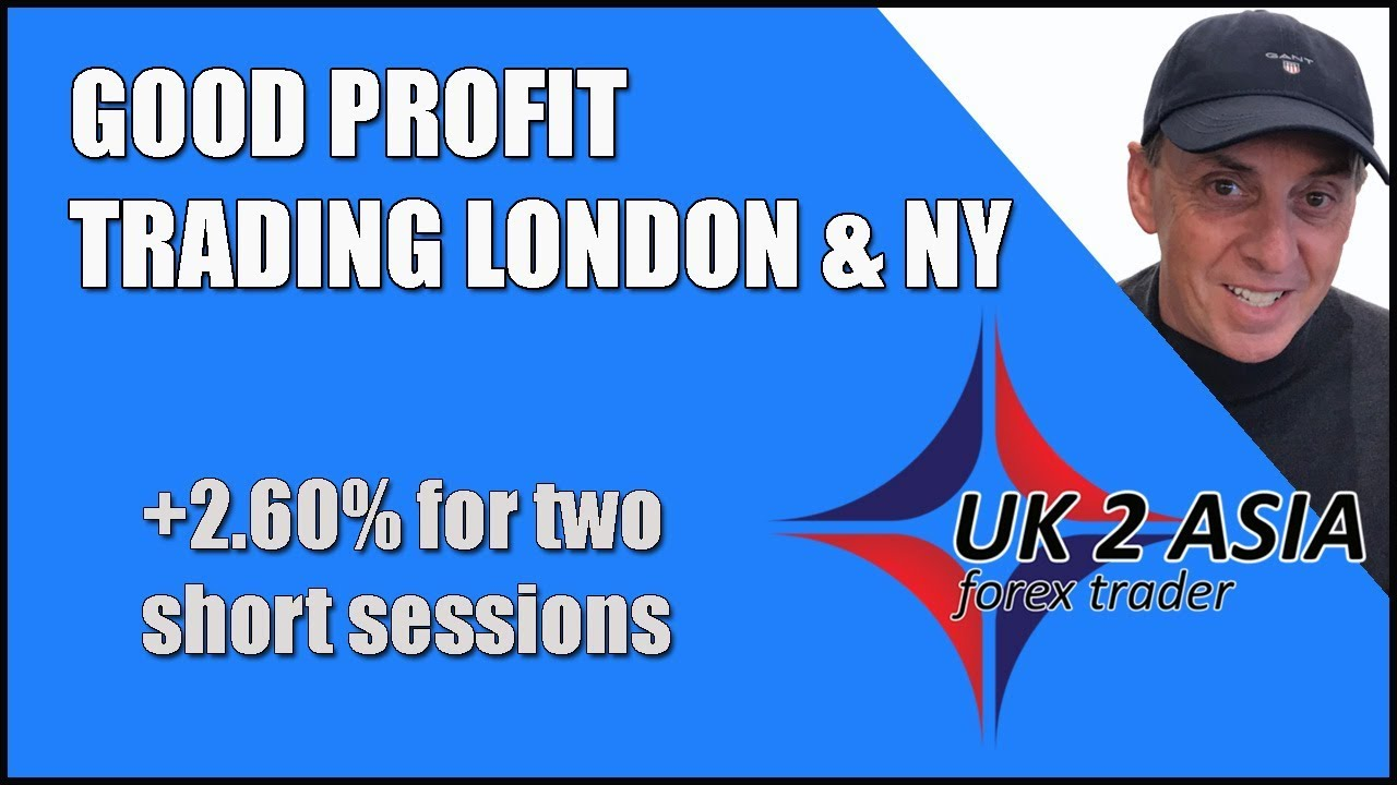 Forex for beginners 2019 | Good profit trading London & NY - How to trade forex