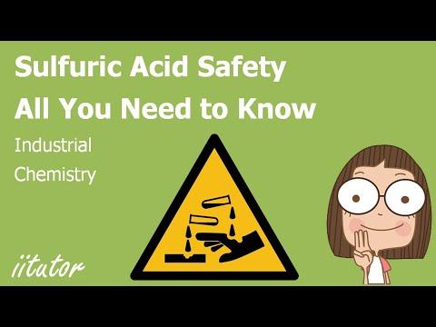 √ Sulfuric Acid Safety - Industrial Chemistry   iitutor
