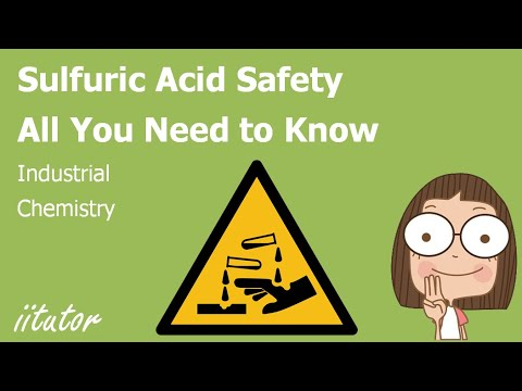 Sulfuric Acid Safety Industrial Chemistry Chemistry
