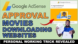 Get Google Adsense Approval on Movies Downloading Websites 2019 - Adsense Approval Tips and Tricks