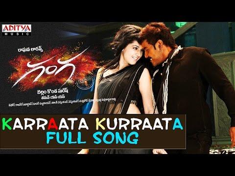 Karraata Kurraata Full SongIIGanga (Muni 3) SongsIIRaghava Lawrence,Tapsee