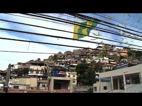 Mondial-2014: vivre l'expérience Coupe du monde dans une favela