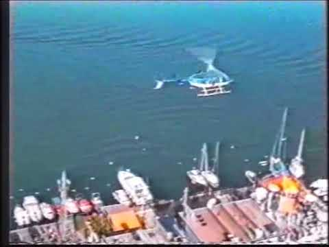 CLIFF DIVING HI PRO P.MAVRIDIS 83,60M (274 FT)WR.GUINNNESS R.BEST HI DIVE FROM HELICOPTER ALLSEASONS