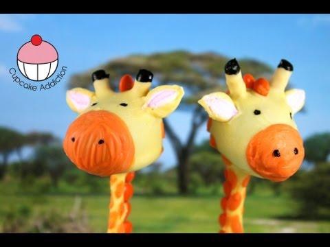 How To Make Giraffe Cake Pops