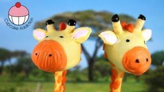 Video Giraffe Cakepops! Make Jungle Safari Cakepops - A Cupcake Addiction how To Tutorial download MP3, 3GP, MP4, WEBM, AVI, FLV Juni 2018