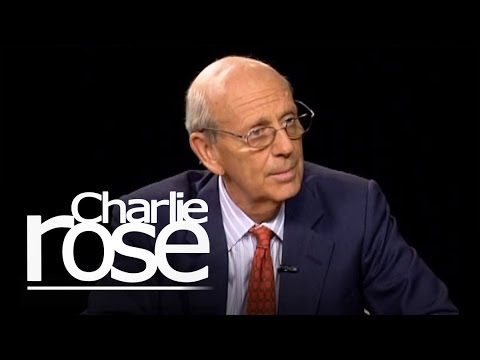 Stephen Breyer | Charlie Rose