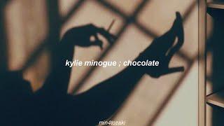 kylie minogue ; chocolate (sub español)