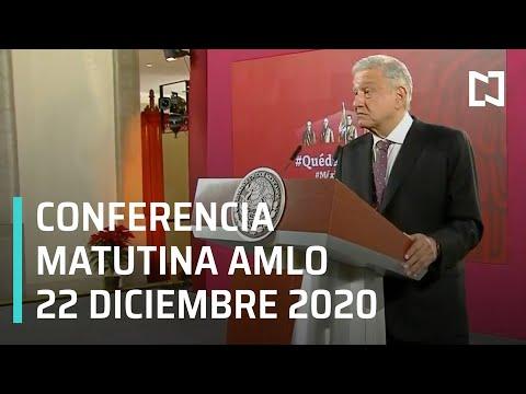 Conferencia matutina AMLO / 22 de diciembre 2020