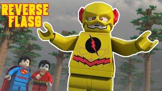 reverse flash saves the day lego dc superheros the flash