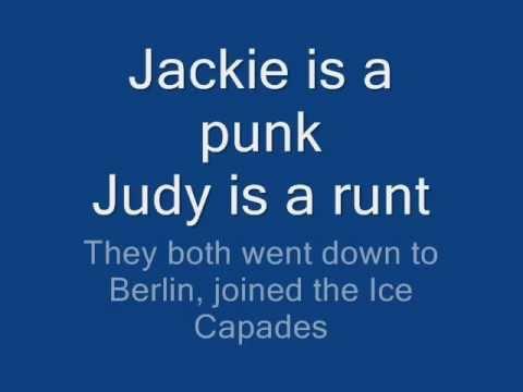 Ramones- Judy Is A Punk With Lyrics
