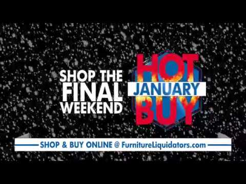 Furniture Liquidators  January Hot Buys 2017