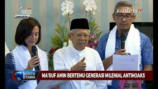 Download Video Ma'ruf Amin Bertemu Generasi Milenial Antihoaks MP3 3GP MP4