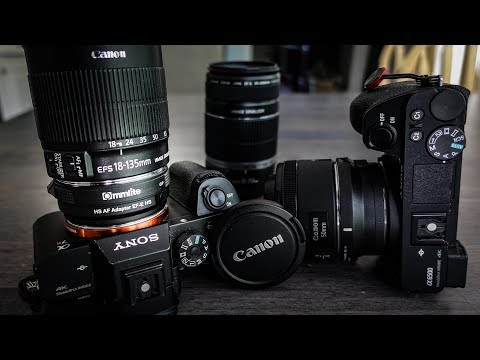 Canon Lenses on Sony Cameras with VIDEO AUTOFOCUS!