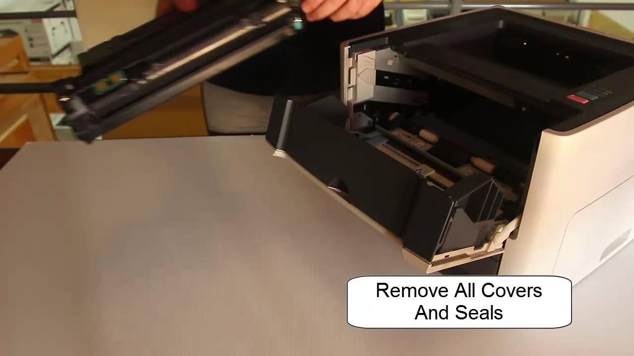 How To Replace Hp Q5949x Toner Cartridge In Hp 1320 Or