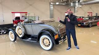 1931 Ford Model A for sale with walk through video and original print ad footage