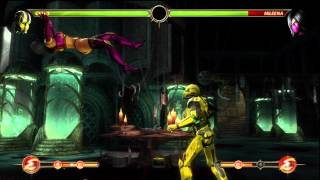 Cyrax best combo series, Cyrax 2 bar 100% unbreakable setup