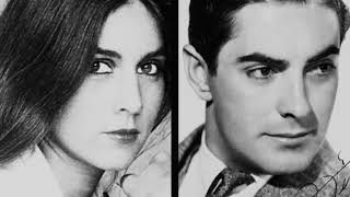 Romina Power and Tyrone Power | Daughter and father