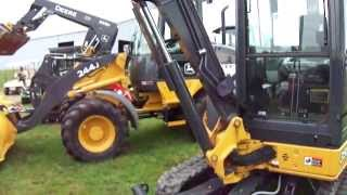 View Some Small Heavy Equipment Out