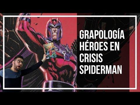 Héroes en Crisis, Patrulla X y Spiderman   NUEVAS GRAPAS