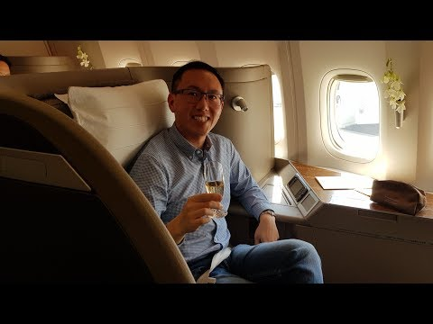 """Cathay Pacific First Class """"Lite"""" – Sydney To Hong Kong (CX 100) – Boeing 777-300ER"""