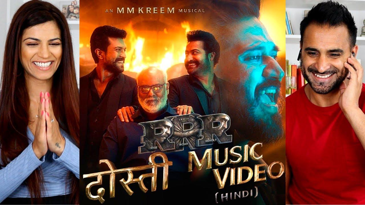 DOSTI - RRR - Amit Trivedi, MM Keeravani | NTR, Ram Charan | SS Rajamouli - RRR DOSTI SONG REACTION!