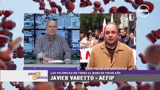 Javier Varetto | AEFIP • Polémicas por el bono de fin de año