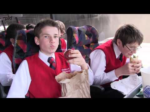 A glimpse of student life at the American Boychoir School: On the Bus
