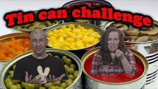 Tin Can Challenge - אתגר קופסאות השימורים
