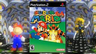 Super Mario 64 PlayStation 2 Native Port Speedrun #1 [No Longer World Record]
