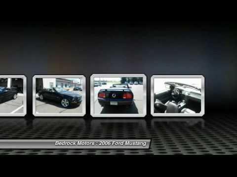 Bedrock Motors Rogers - 2006 Ford Mustang GT Premium Rogers, Blaine, Minneapolis, St Paul, MN 6611A