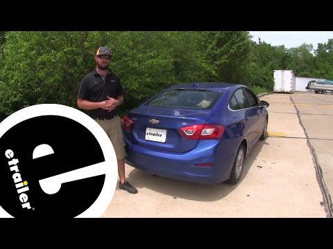 Etrailer | Curt Trailer Hitch Installation - 2017 Chevrolet Cruze