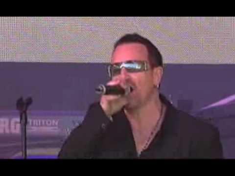 U2 with Pearl Jam - YouTube